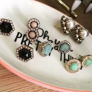 Mint Stud Earrings